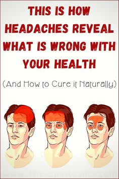 health fitness - This is How Headaches Reveal What is Wrong With Your Health (And How to Cure it Naturally) Health And Fitness Tips, Fitness Nutrition, Health Diet, Health And Nutrition, Health And Wellness, Cat Health, Yoga Fitness, Health Care, Health Yoga