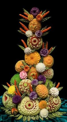 A food carving by Bang-on Roulet : adn