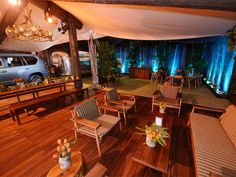 """""""Glamping"""" at Pebble Beach Food & Wine. http://www.asv1.com/our-work/pebble-beach-food-wine/"""