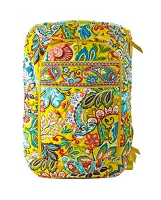 Vera Bradley Signature Print Laptop Backpack, Provencal List Price: $109.00 Our Price: $60.00 Savings: $49.00