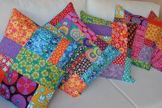 ♥ almofadas coloridas ♥ by toda minúcia, via Flickr