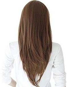 haircut, long subtle flowing layers for a much prettier look (to me at least) than a straight bottom edge.
