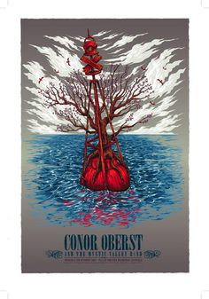 Conor Oberst Concert Poster by Ken Taylor
