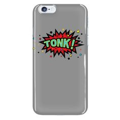 TONK! iPhone 6 plus cell phone case (Gray)