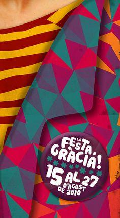 Cartaz para Festa Major de Gracia by joão faissal