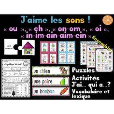 """Le son """"in, im, ain, aim, ein"""" - jeux et activités ..."""