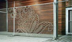 Кружевная ограда