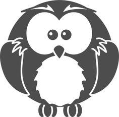Cartoon owl  by @bocian, animal, bird, cartoon, clip art, clipart, funny, owl,