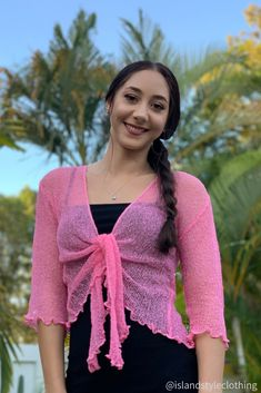 Summery Purple Ladies Sheer Shrug. Super Lightweight Knit Cardigan. You can roll this up in your bag and pop on after the sun goes down. Throw over a summer dress, jeans or shorts. #luau #cruisewear #summer #beachcoverup #bolero #cruisewear #beachcardigan #cardigan