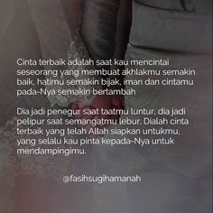 InsyaAllah itu kamu my Q. Wisdom Quotes, Words Quotes, Wise Words, Life Quotes, Islamic Quotes, Muslim Quotes, Amazing Quotes, Best Quotes, Jodoh Quotes