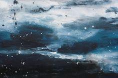 emotional sea (2016) Acrylic painting by Elena Petrova | Artfinder