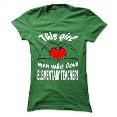 This girl - Elementary Teacher - #tshirt refashion #hoodie outfit. I WANT THIS => https://www.sunfrog.com/LifeStyle/This-girl--Elementary-Teacher-Green-40868977-Ladies.html?68278