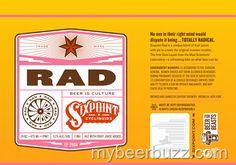 mybeerbuzz.com - Bringing Good Beers & Good People Together...: Sixpoint - RAD (Radler) 16oz Cans