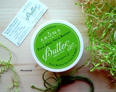 Aroma Naturals. Pure Aloe Vera Butter For Face & Body \ Масло Алоэ Вера для лица и тела.