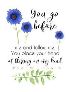 Psalm 139-5 Printable