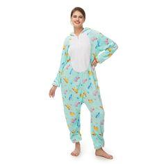Green Print Cartoon Cute Onesies – alfagoody Adult Pajamas, Animal Pajamas, Onesie Pajamas, Kids Pajamas, Pajamas Women, Comfy Pajamas, Pjs, Funny Cosplay, Onesie Costumes