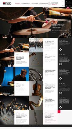 pinterest.com/fra411 #webdesign - Mecenat Musical
