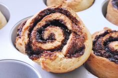 no-yeast cinnamon rolls. Perfect if you have less time.  #cinnamon #breakfast #buns