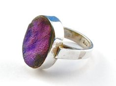 purple geode ring.