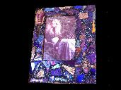 Shimmer... Pretty Little Things purple theme mixed media frame