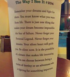 two things i love. quotes and starbucks.