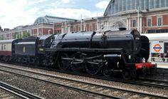 """Steam Locomotive 70000 """"Britannia""""   Flickr - Photo Sharing!"""