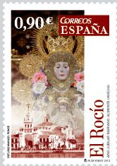Marian Jubilee Year commemorated on a Spanish stamp