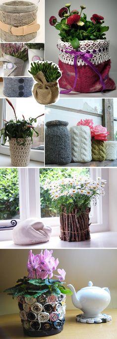 rosliny0w-stylu-vintage (10) Planter Pots, Floral, Vintage, Flowers, Vintage Comics, Flower