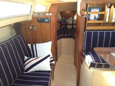 1979 catalina 27 located in california for sale sailboat interior, yacht  interior, living on