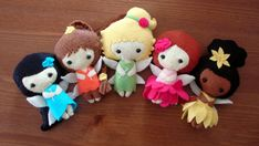 Little Fairy Felt Doll  One Doll by MyThreadsOfWhimsy on Etsy, $20.00