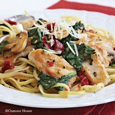 Deb's Chicken Florentine   Top 10 dinners that make the best leftover lunches from Gooseberry Patch