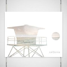 Dreamy Beach Photography / digital collage print by BokehEverAfter, $27.00