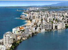 Map of Condado Beach Hotels - Bing Images