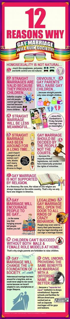 Gay marriage rights (if you read it you'll realize it's all sarcastic) (in other words this is PRO gay marriage)