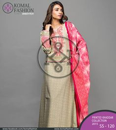 Beautiful Khaddar collection is now available to give you warm impact of these cold days! PKR: 1500 / USD: $15 Place your order ☛ {+92-322-3504542} #Printed #khaddar #womendress #pakistanidress