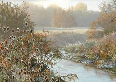 """Pin by Mia Feigelson on Pastel Painting - Mia Feigelson's FB Gallery … www.pinterest.com736 × 526Buscar por imagen https://www.facebook.com/MiaFeigelson """"Frosted teazels"""" [Sold] By Peter Barker, from Banbury, Oxfordrshire, England (current location, South Luffenham, England) - pastel painting; 15 x 23 in - http://www.peterbarkerpaintings.co.uk/ https://www.facebook.com PETER BARKER PINTURA - Buscar con Google"""