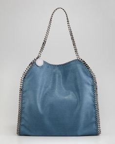 Metallic Baby Bella Tote Bag by Stella McCartney at Neiman Marcus.