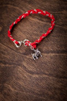 Mississippi State Bulldogs Charm Bracelet #HailState #Fight4MSU on BourbonandBoots.com, but why ever is the bracelet red and not maroon???