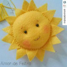 382 отметок «Нравится», 6 комментариев — Feltros Santa Fé (@santafefeltros) в Instagram: «Que seu dia seja iluminado♥ #santafe #felt #feltro #apaixonadosporfeltro»