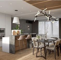 Conference Room, Sweet Home, Dining Table, Loft, Interiors, Bar, Bedroom, Kitchen, Furniture
