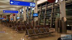 Wartehalle Moskau Scheremetjewo - Check more at https://www.miles-around.de/trip-reports/economy-class/aeroflot-boeing-767-300er-economy-class-budapest-nach-moskau/,  #Aeroflot #avgeek #Aviation #Boeing #Boeing767-300ER #BUD #EconomyClass #Flughafen #Moskau #SVO #Trip-Report