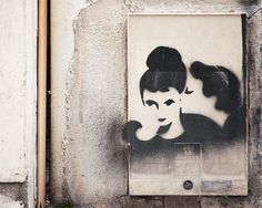"Paris Graffiti, Fine Art Photography, Paris ""The Kiss,"" Large Wall Art Prints, Paris Photography, Paris Decor by TheParisPrintShop on Etsy https://www.etsy.com/listing/66620735/paris-graffiti-fine-art-photography"