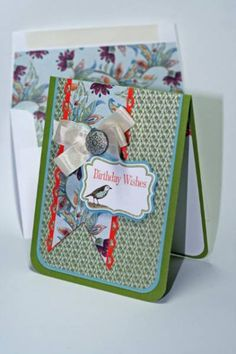 Four Frames by SU! - Little Birdie Birthday Wishes by Harley Queen - Cards and Paper Crafts at Splitcoaststampers
