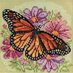 Thrilling Designing Your Own Cross Stitch Embroidery Patterns Ideas. Exhilarating Designing Your Own Cross Stitch Embroidery Patterns Ideas. Butterfly Cross Stitch, Beaded Cross Stitch, Counted Cross Stitch Kits, Cross Stitch Flowers, Cross Stitch Charts, Cross Stitch Designs, Cross Stitch Embroidery, Embroidery Patterns, Cross Stitch Patterns