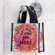 Love You More Recycled Gift Bag