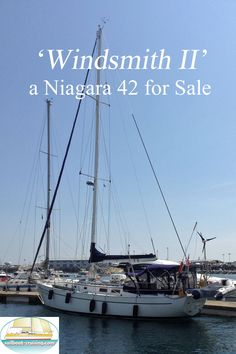 'Windsmith II' was built to a classic design by Mark Ellis, with a sea-kindly hull and a long fin keel. Her moderate draft of 5 feet 9 inches allows her to get into many secluded anchorages and canals. The cabin and cockpit layout provide comfortable long term living for a couple with room for short term visits by 4 or 5 guests. The full galley is comfortable to work in at sea and at anchor with plenty of good storage space, a gas stove, refrigerator and freezer. Used Sailboats For Sale, Mark Ellis, Sailboat Cruises, Gas Stove, Refrigerator, Freezer, Anchor, Sailing, Layout