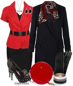 """Sexy Red-Style This Dress"" by stephiebees ❤ liked on Polyvore"