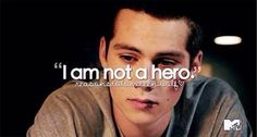 """Reasons to love Teen Wolf """"I am not a hero"""""""