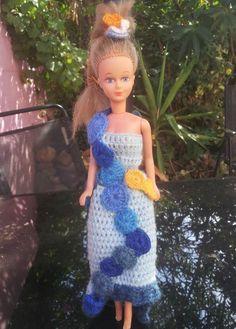 Barbie, Crochet, Blog, Creations, Shoulder Dress, Images, 2013, Formal Dresses, Fashion