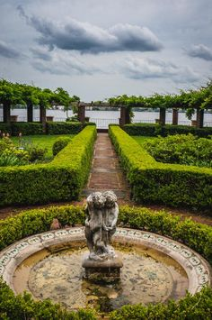 Private Garden at the Cummer Museum in Jacksonville